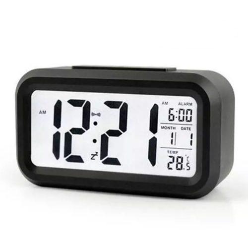 Digital Alarm Clock - Black