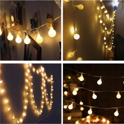 Led String Bulb Lights 10m