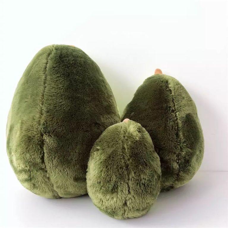 Happy Avocado Pillow Cushion Plush Toy
