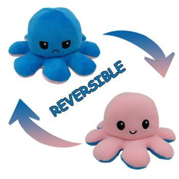 Reversible Flip Octopus Plush Doll Toy