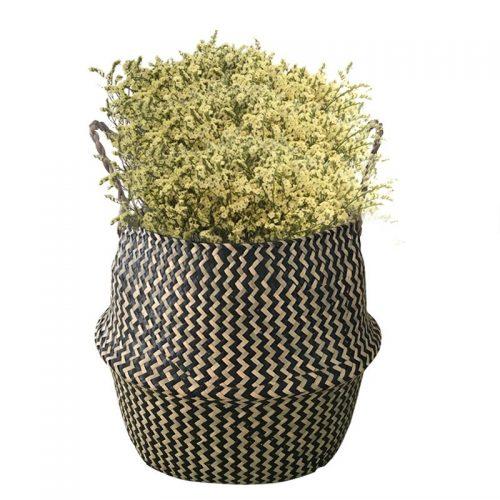 Seagrass Plant Storage Laundry Basket