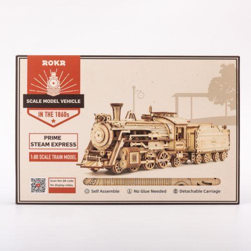 ROKR Prime Steam Express Wooden 3D Puzzle