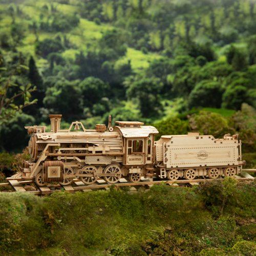 Prime Steam Express Wooden 3D Puzzle