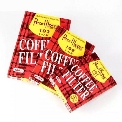U-shaped Unbleached Coffee Filter Paper