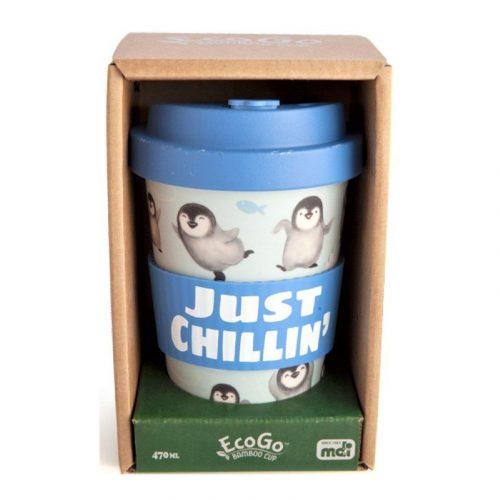 EcoGo Bamboo Cup - Penguin