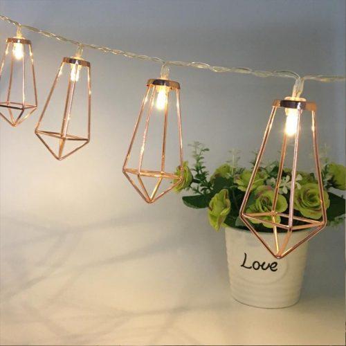 Diamond Shape Fairy String Lights