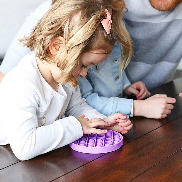 Push And Pop Bubble Fidget Toy - Circle