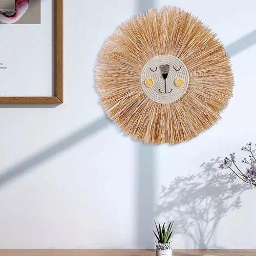 Lion Head Wall Hanging