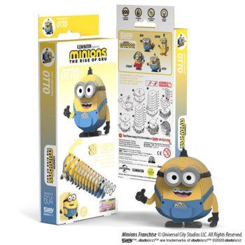 EUGY2 Minions Otto 3D Cardboard Model