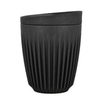 Huskee Reusable Coffee Cup – Charcoal