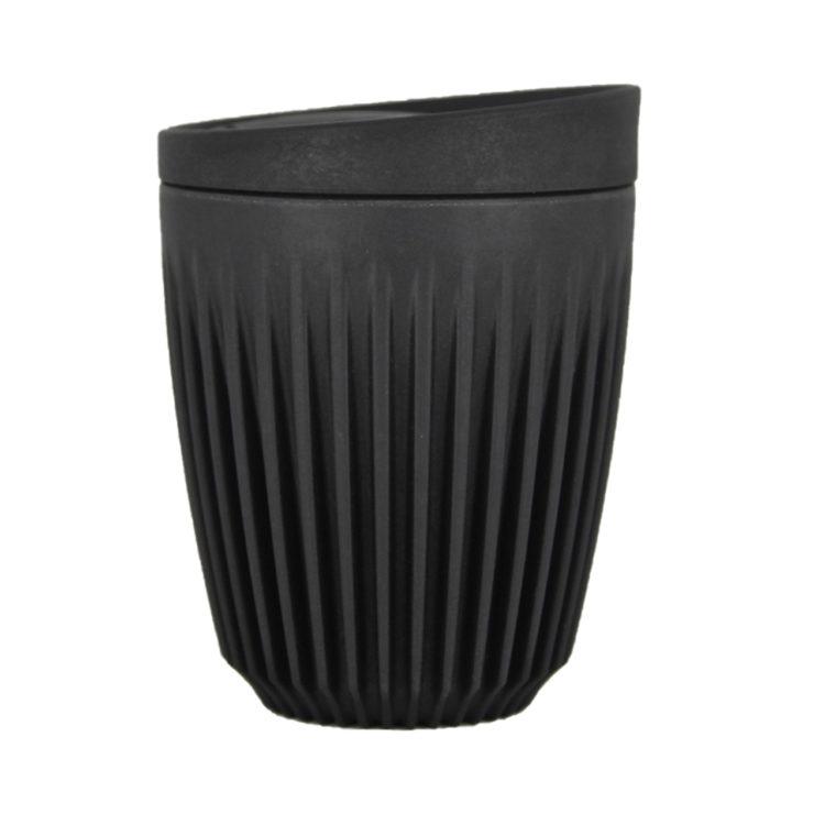 Huskee Reusable Coffee Cup - Charcoal