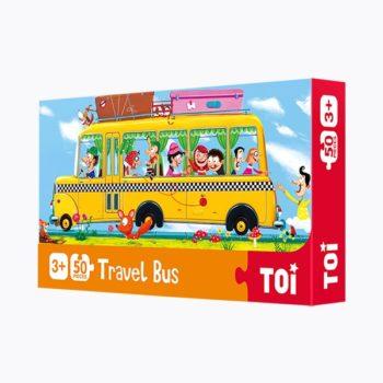 Travel Bus 50 Piece Jigsaw Puzzle