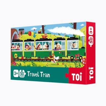 Travel Train 50 Piece Jigsaw Puzzle