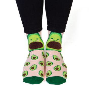 Avocado Feet Speak Socks