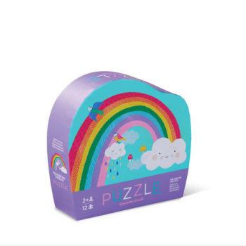 Mini Shaped Puzzle 12pc - Rainbow Dream