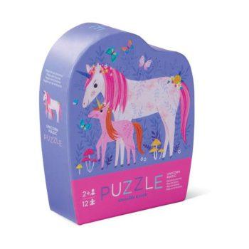 Mini Shaped Puzzle 12pc - Unicorn Magic