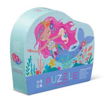 Mini Shaped Puzzle 12pc - Mermaid Dream
