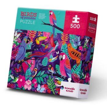 500pc Family Puzzle - Birds of Paradise
