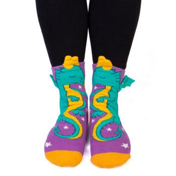 Dragon Feet Speak Socks