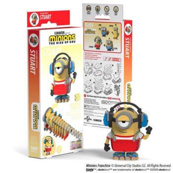 EUGY2 Minions Stuart 3D Cardboard Model