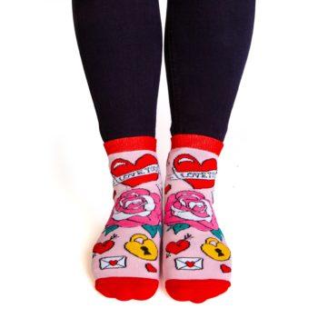 F*cking Love You Feet Speak Socks