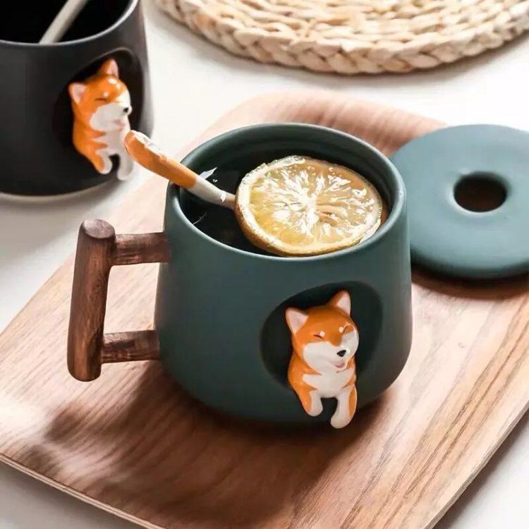 Shiba Inu 3D Mug