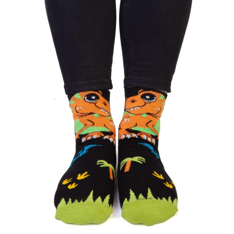 T-Rex Feet Speak Socks