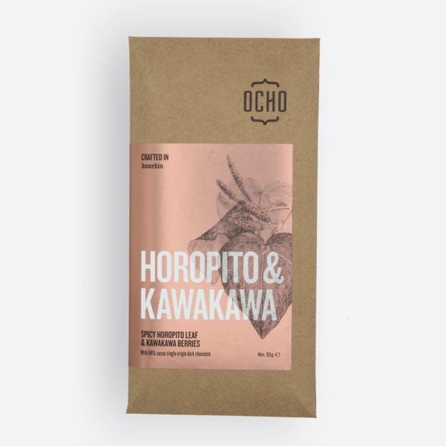 Ocho Chocolate Bar - Horopito & Kawakawa 95g
