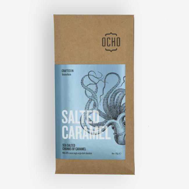 Ocho Chocolate Bar - Salted Caramel 95g