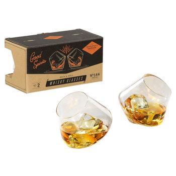Rock & Roll Whisky Glasses - Set of 2