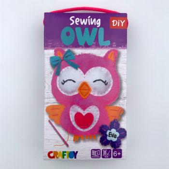 Sewing Animal DIY Kit - Owl