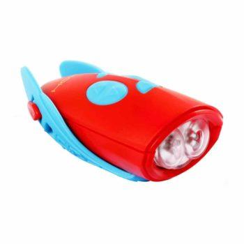 Mini Horn & Bike Light - Blue/Red