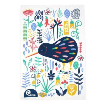 New Zealand Tea Towel - NZ Kiwi