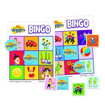 Wiggles Bingo & Matching Tin